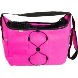 Transp. taška nylon Diana malinová 40 cm - do 7,5 kg