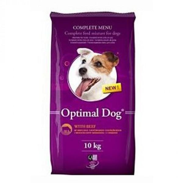 Delikan Dog Optimal 10kg hovězí