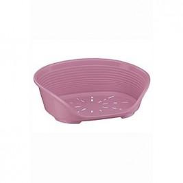 Pelech plast SIESTA DLX 2 růžový 49x36x17,5cm FP 1ks