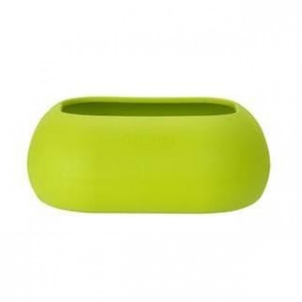 Miska guma ovál - zelená Kruuse 2 l