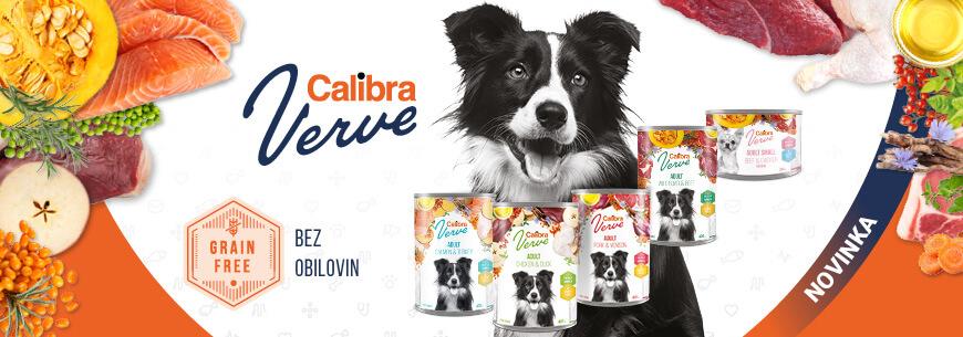 Nové konzervy Calibra Verve